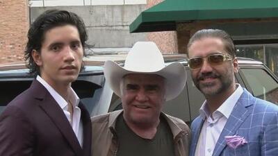 El hijo de Alejandro Fernández debutó como cantante y dice en qué no está dispuesto a seguir a su papá