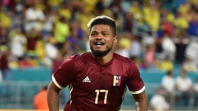Liderados por Josef Martínez, cuatro 'emeleseros' se suman a Venezuela para la Copa América