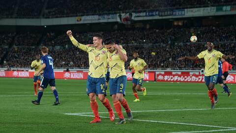 Falcao destaca la disposición de Colombia para que el equipo mejore