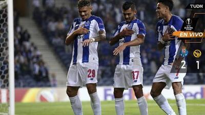 EN VIVO | Porto se adelanta con asistencia de 'Tecatito'