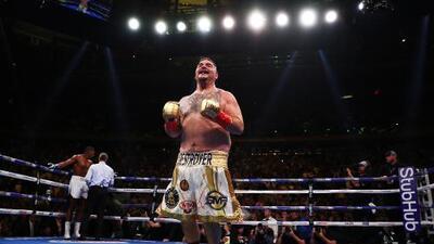 Mexicanos en Estados Unidos, conmocionados por la victoria de Andy Ruiz