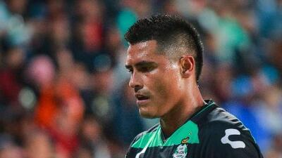 Osvaldo Martínez se despidió de la afición de Santos y ya está en Guadalajara