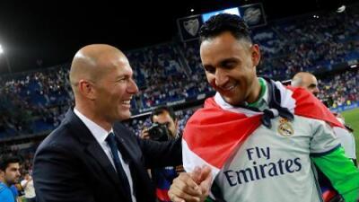 Zinedine Zidane cuenta con Keylor Navas