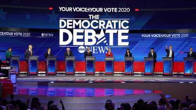 ¿Quién ganó el tercer debate demócrata? Esta encuesta exclusiva de Univisión tiene los resultados