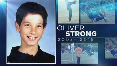 Una fundación para honrar a Oliver Strong, hijo de Vilma Tarazona