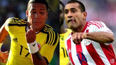 El duelo: Dayro Moreno vs. Paulo Da Silva