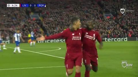 ¡GOOOL! Naby Keita anota para Liverpool