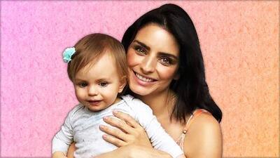 """Hola Kai"", la hija de Aislinn Derbez ya aprendió a decir su nombre"