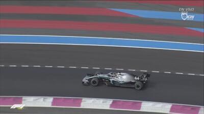 Dominio hasta la última vuelta: Lewis Hamilton ganó el Gran Premio de Francia