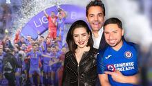 Eugenio Derbez y otros famosos que sonrieron por la victoria del Cruz Azul (otros sufren las apuestas)