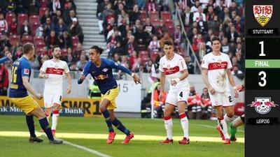 El Leipzig se mete en puestos de Champions League tras derrotar al Stuttgart