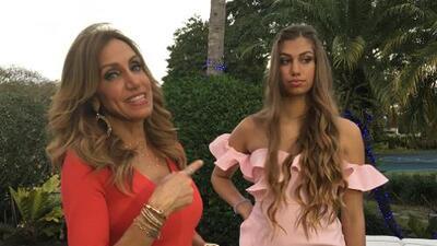 Esto fue lo que pasó detrás de cámaras en la entrevista de Lili Estefan a su hija Lina