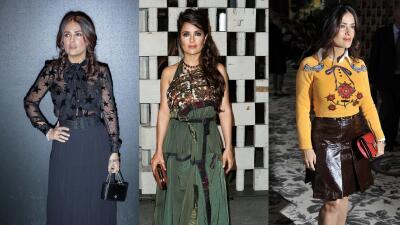 El mes más fashion de Salma Hayek-Pinault. Califícala AQUÍ