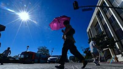 Calor y cielo despejado, el pronóstico para este viernes en Los Ángeles