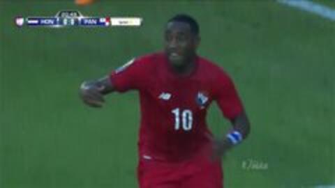 Goooolll!! Luis Carlos Tejada mete el balón y marca para Panamá