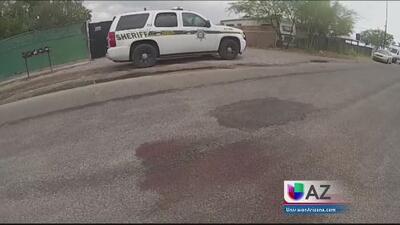 Asesinan a hombre en vecindario de casas móviles