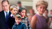 """""""Papá te extraña"""": los hijos del príncipe William le escriben a Lady Di en el Día de la Madre"""