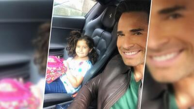 Sebastián Rulli grabó por primera vez con 'su hija'