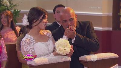 ¡Laura G se casó! No vas a creer con quién