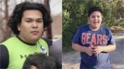 Hermanos fueron localizados sin vida en arroyo en Denton