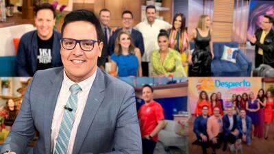 El paso de Raúl González por Despierta América: así le dimos la bienvenida oficial a uno de los pioneros del show