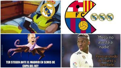 Memelogía: las burlas atacan a Vinicius y el Madrid después de perder con el Barcelona en Copa del Rey