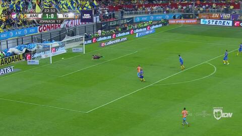 Ahora fue Nahuel… Uribe cerca de poner el segundo para las Águilas