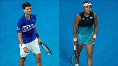 Djokovic y Osaka continúan en lo más alto del tenis profesional