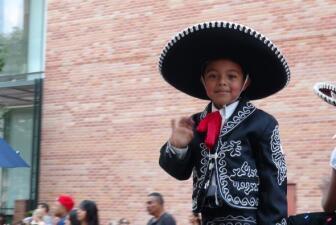 A celebrar el Cinco de Mayo en Houston