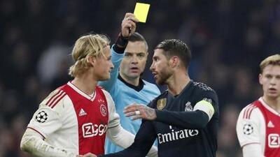UEFA abrió investigación a Sergio Ramos por amonestación