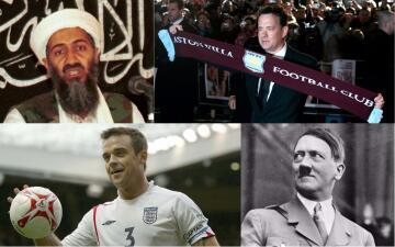 ¿De qué equipos eran fanáticos Hitler, Mussolini, Bin Laden y Michael Jackson?