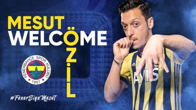 Mesut Özil ya firmó y es nuevo jugador del Fenerbahçe