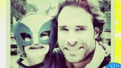 Sebastián Rulli le da tiempo de calidad a su hijo