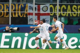 En fotos: PSV le empata 1-1 al Inter de Milán en su casa con gol de 'Chucky' Lozano