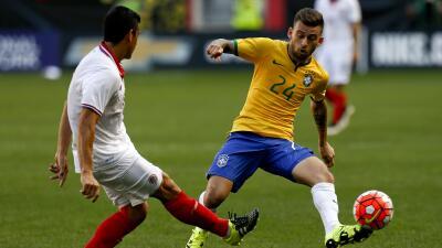 Brasil 1-0 Costa Rica: Brasil vence 1-0 a Costa Rica en amistoso en EEUU