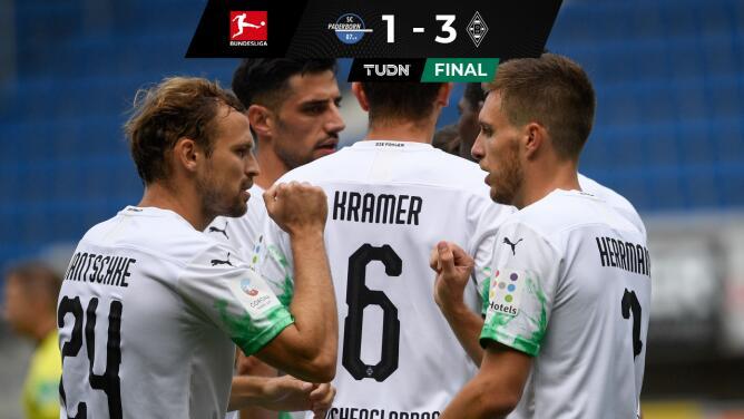 ¡Asalta el cuarto sitio! Gladbach gana y le quita al Leverkusen su lugar en la Champions