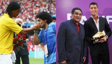 Ídolos de los ídolos: a quiénes idolatran las grandes figuras del fútbol mundial
