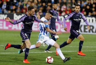 En fotos: Diego Reyes fue suplente en la victoria de Leganés 1-0 contra Valladolid
