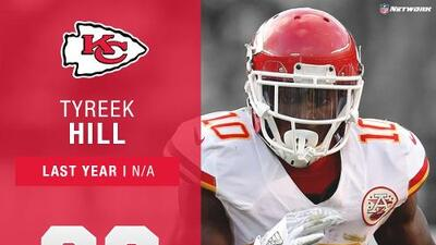 #36: Tyreek Hill (WR, Chiefs) | Top 100 Jugadores 2017