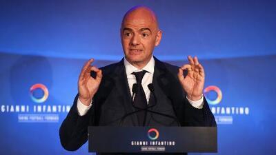 Federaciones apoyan la propuesta de Gianni Infantino de Mundial de fútbol entre 40 y 48 naciones