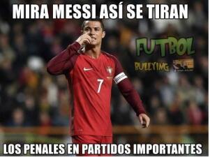 Portugal y Cristiano están en semifinales de la Euro y los memes no se hicieron esperar