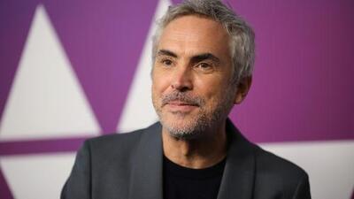 Alfonso Cuarón recibe premio del Sindicato de Directores por su película 'Roma'