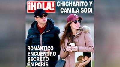 'Chicharito' Hernández tiene nueva novia: la mexicana Camila Sodi