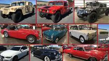 """La """"impresionante"""" colección de 149 autos que tenía un empresario acusado de fraude y que está en subasta"""