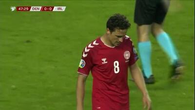 Dinamarca prueba de media distancia a Irlanda con Tom Delaney
