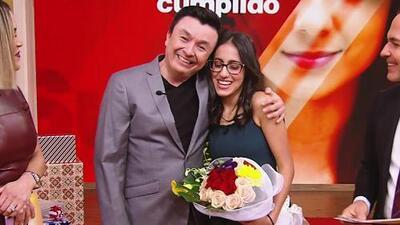 """""""La perseverancia es la clave para el éxito"""": el mensaje que José Gamio le dio a Yesenia como su mentor"""