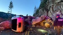 Derrumbe cerca de Lake Tahoe cierra la autopista 50