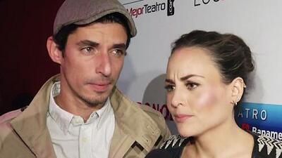 Zuria Vega y Alberto Guerra demuestran que sí se puede mezclar el placer y los negocios