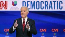 Biden relanzó virtualmente en Florida su campaña presidencial, pero la tecnología no estuvo de su lado