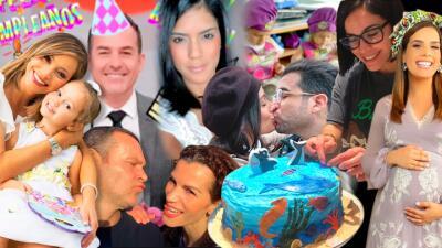 Cumpleaños, viajes y un 'baby shower': octubre inició lleno de festejos para los conductores de Despierta América